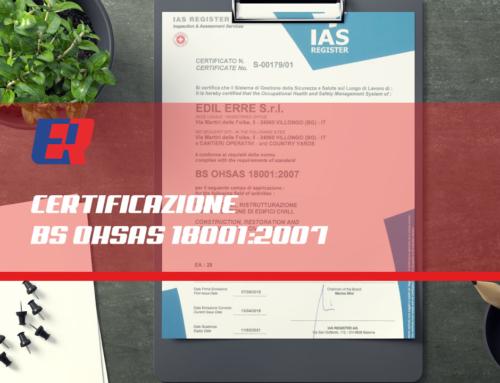 Certificazione BS OHSAS 18001:2007